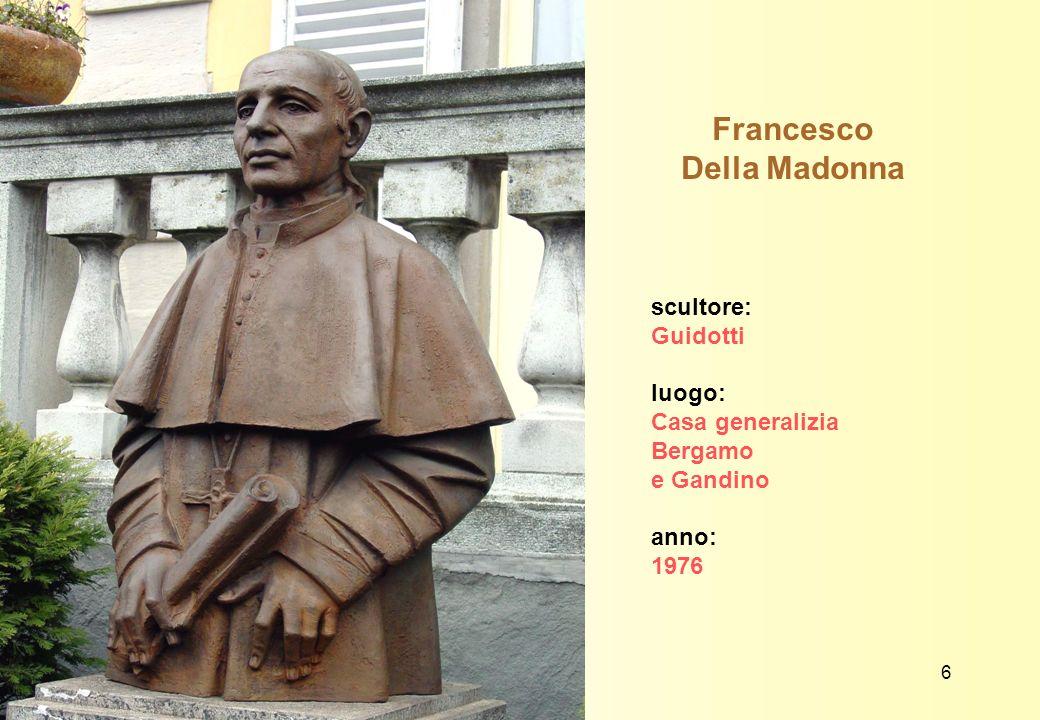 Francesco Della Madonna disegnatore: Trento Longaretti luogo: tavola del libro di G.