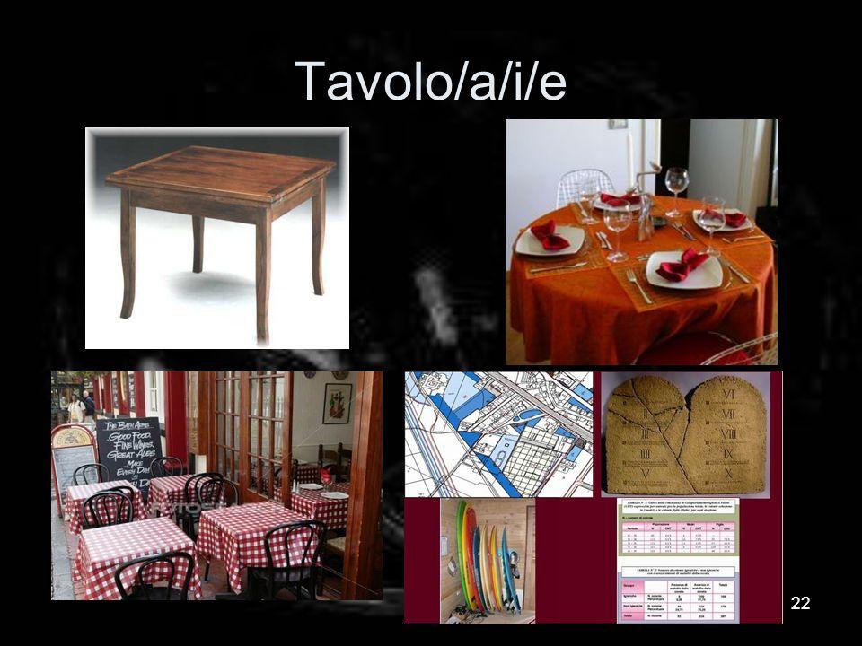 Tavolo/a/i/e 22