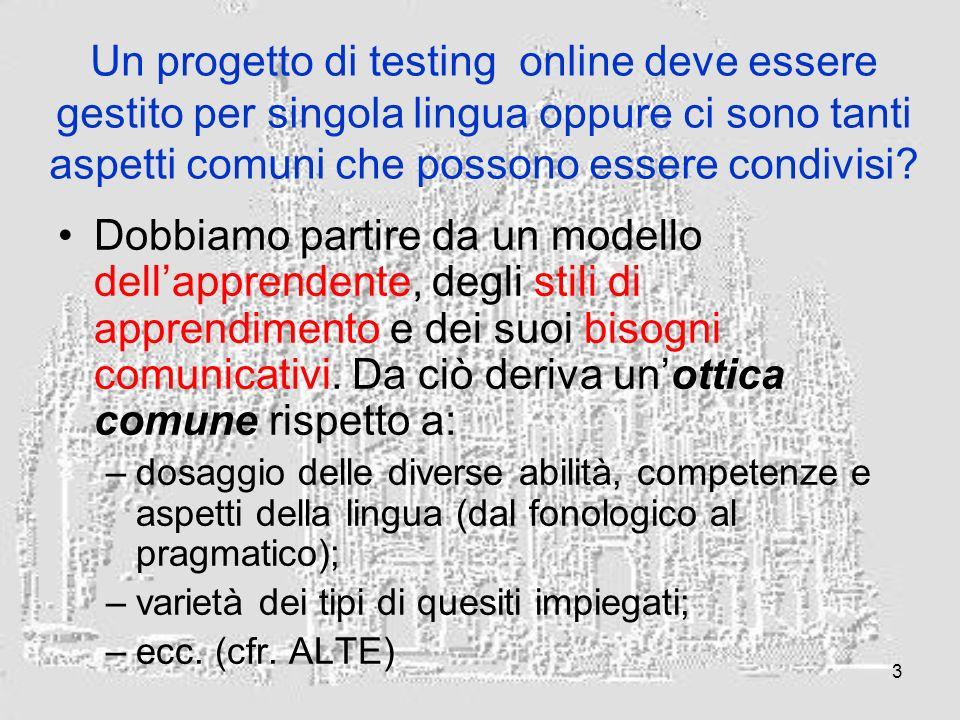 4 Che cosa pensa dei criteri di valutazione can do di ALTE.
