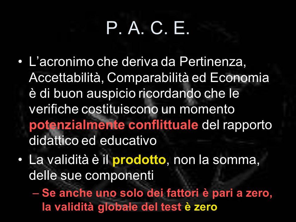 P. A. C. E.