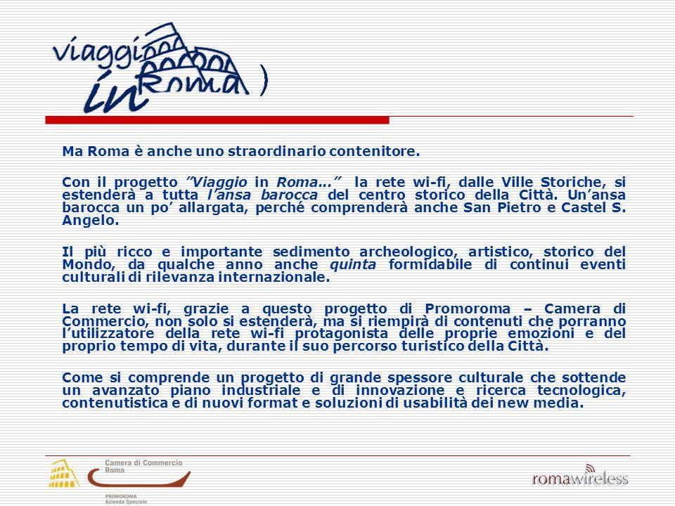 I soci di Roma Wireless 5 Emme informatica spa Alcatel S.p.A.