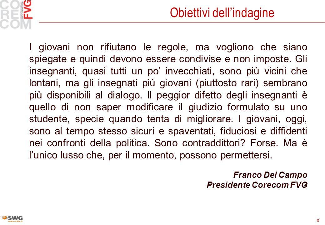 29 ItaliaFVG molto autoritari88 autoritari4847 poco autoritari3333 per niente autoritari67 preferisco non rispondere55 Il profilo dei genitori I tuoi genitori sono, o sono stati, generalmente......….