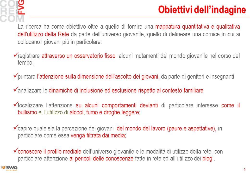 30 ItaliaFVG severo 3131 non severo4242 non sa2727 Il profilo dei genitori: regole e rispetto Da più sicurezza un genitore........….