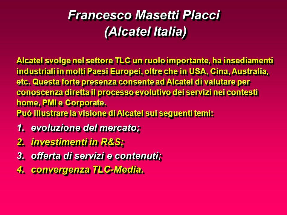 Alcatel svolge nel settore TLC un ruolo importante, ha insediamenti industriali in molti Paesi Europei, oltre che in USA, Cina, Australia, etc.