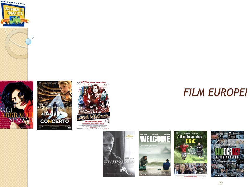 FILM EUROPEI 27