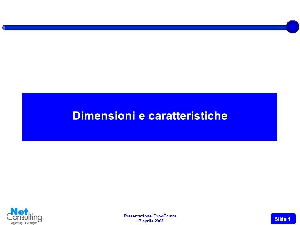 Il mercato e il settore dellICT in Italia Caratteristiche, trend e opportunità Giancarlo Capitani Presentazione ExpoComm Ambasciata Americana Roma, 17 aprile 2008