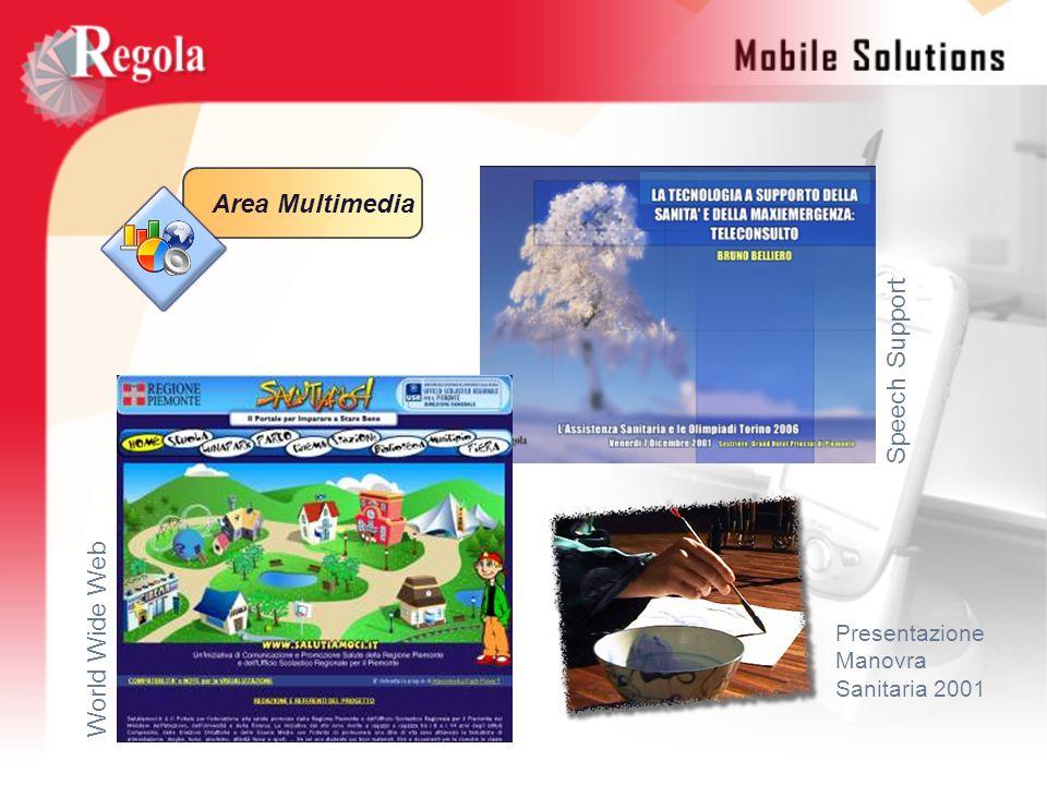 Area Multimedia World Wide Web Speech Support Presentazione Manovra Sanitaria 2001