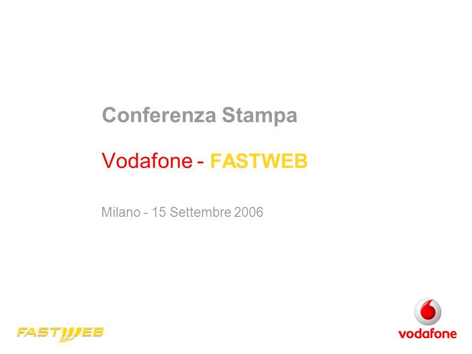 Conferenza Stampa Vodafone - FASTWEB Milano - 15 Settembre 2006