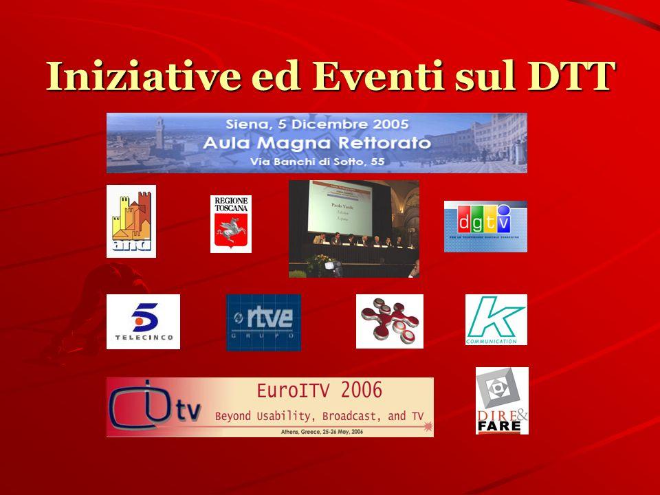 Iniziative ed Eventi sul DTT