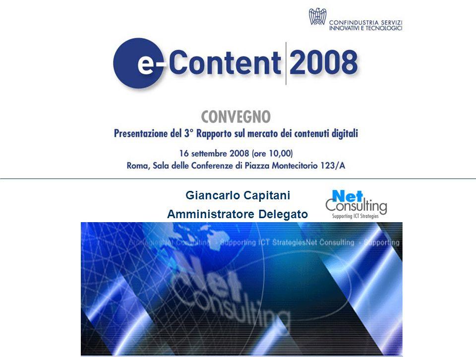 3° Rapporto e Content 2008 16 Settembre 2008 Slide 10 606,5 894,7 Pubblicità +88.6% +43.1% +45.1% +42.1% 47,5% 115,5 125 Public Content +2.6% +11.8% +10,6% 8.2% 3.540 4.137,5 Contenuti a pagamento +20.6% +74.2% +11,5% +10,2% +11.3% 16.9% Video Musica Mobile entertainment Entertainment On line News Composizione del mercato delle-Content per segmenti (2006-2007) +11% +47.2% Entertainment & gaming News Portali DTT, SAT, IPTV e Web TV Turismo Giacimenti culturali Education Classified Search Mobile TV