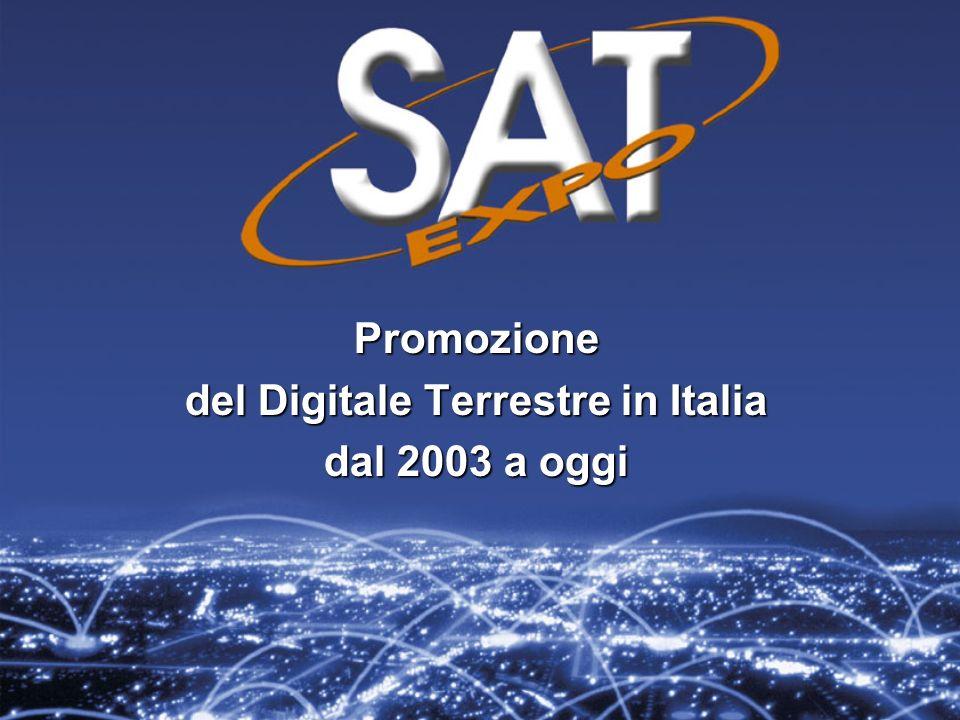 Promozione del Digitale Terrestre in Italia dal 2003 a oggi