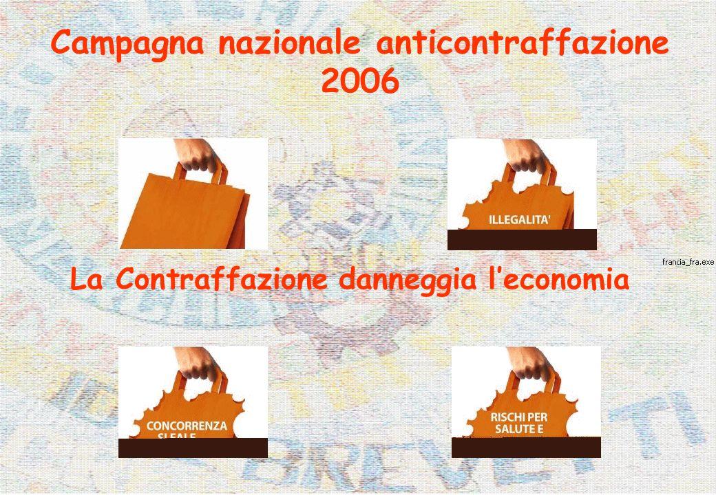 Campagna nazionale anticontraffazione 2006 La Contraffazione danneggia leconomia