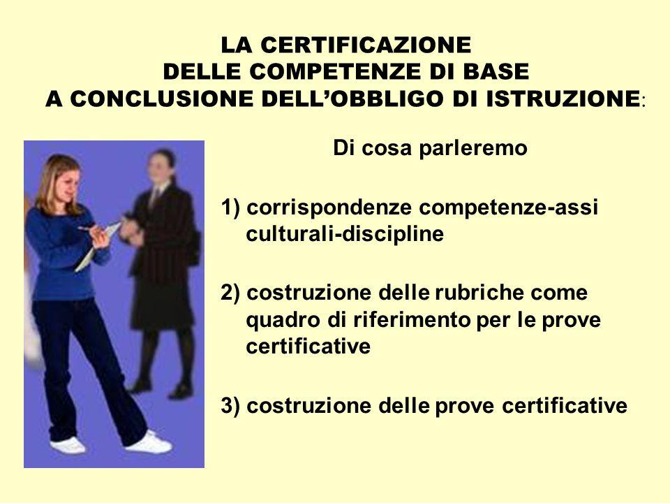 LA CERTIFICAZIONE DELLE COMPETENZE NEL NUOVO OBBLIGO ADi Silvia Faggioli