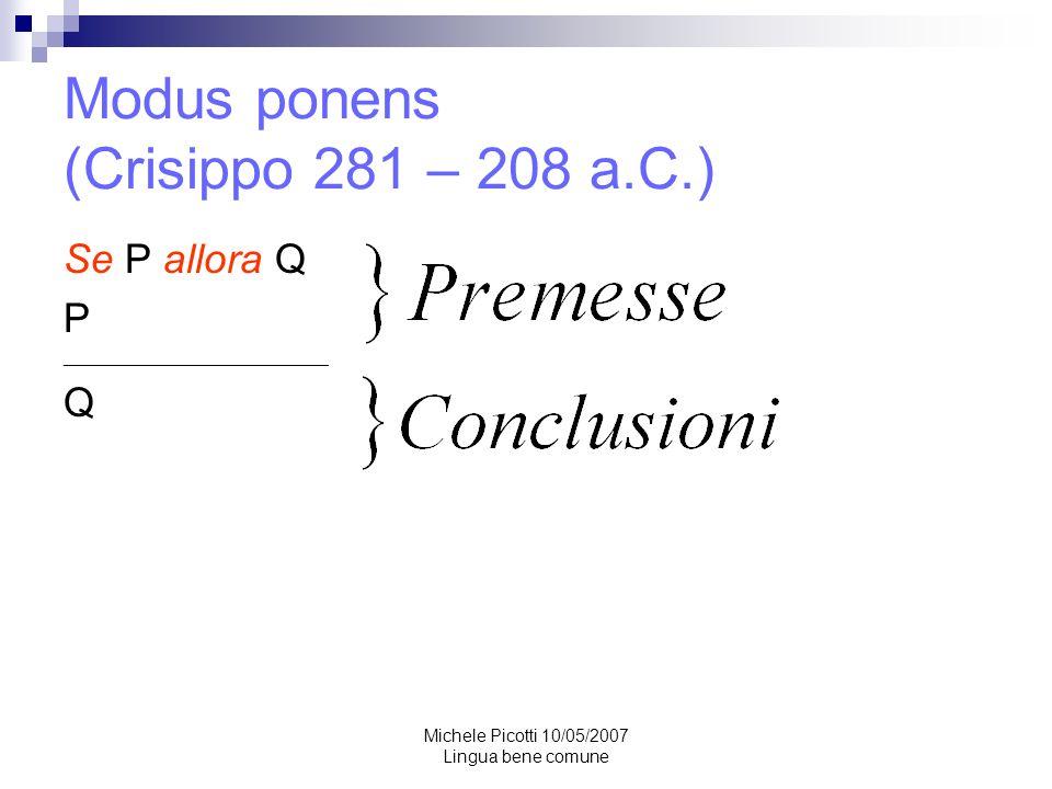 Michele Picotti 10/05/2007 Lingua bene comune Attenzione.