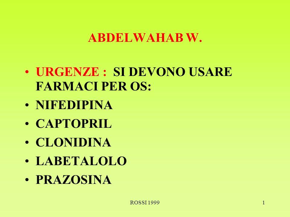 ROSSI 19991 ABDELWAHAB W.