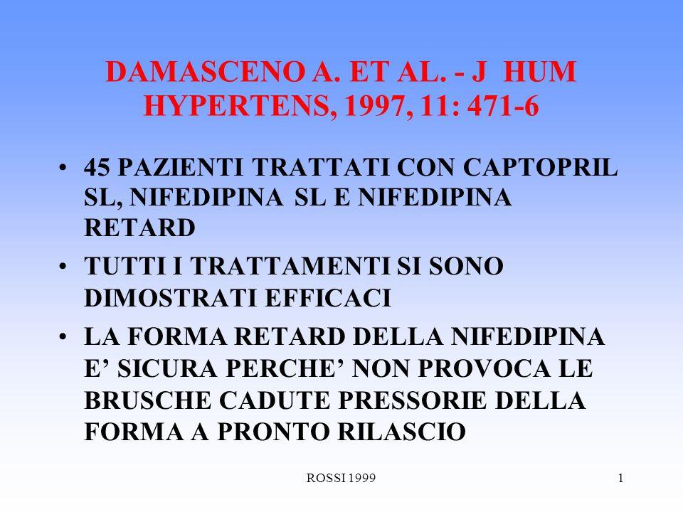 ROSSI 19991 DAMASCENO A. ET AL.