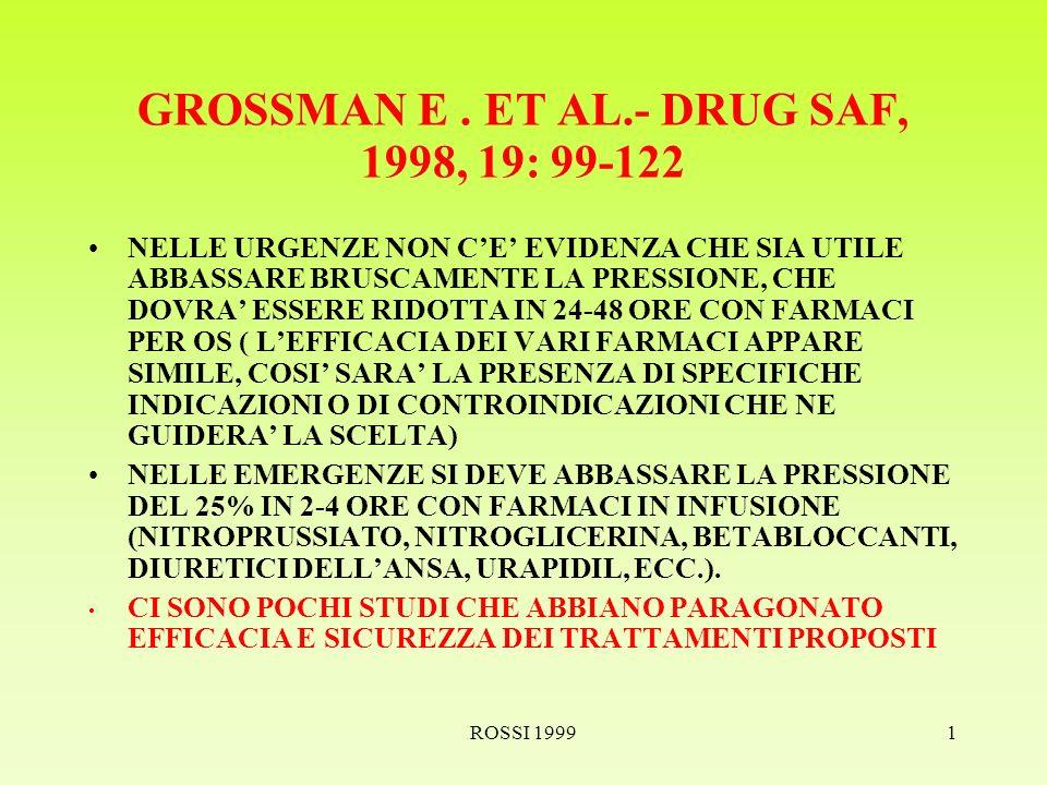ROSSI 19991 GROSSMAN E.