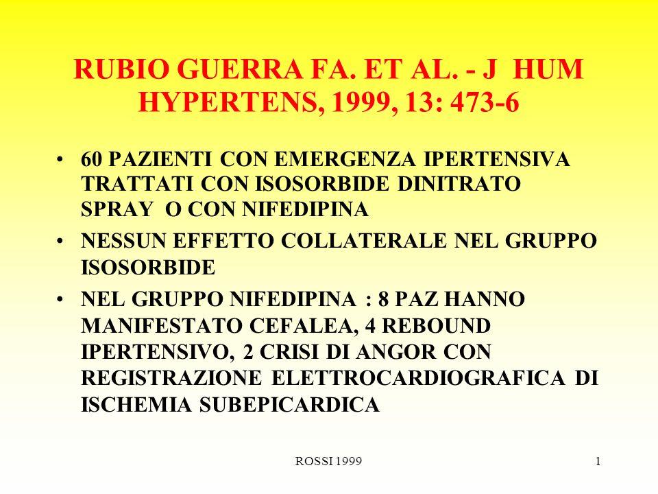 ROSSI 19991 RUBIO GUERRA FA. ET AL.