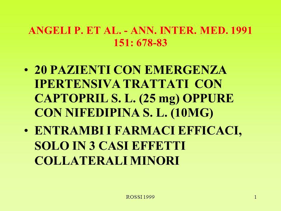 ROSSI 19991 ANGELI P. ET AL. - ANN. INTER. MED.