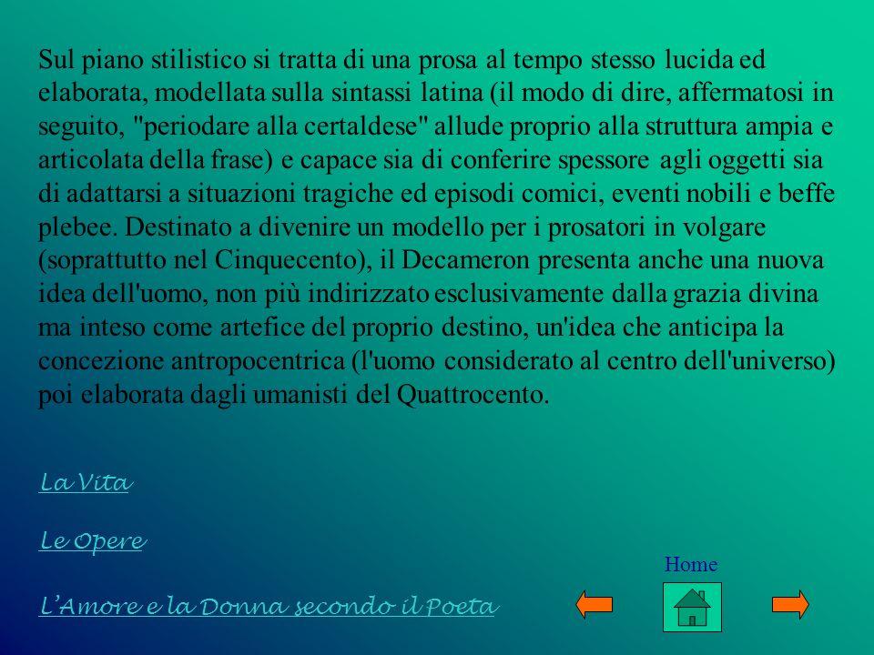 Sul piano stilistico si tratta di una prosa al tempo stesso lucida ed elaborata, modellata sulla sintassi latina (il modo di dire, affermatosi in segu