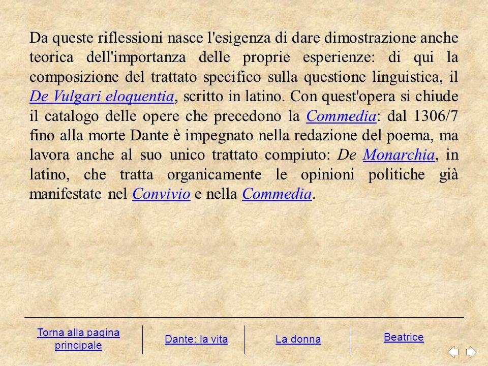 Le rime Prova della versatilità dantesca sono le Rime, cioè l intera produzione lirica di Dante che il poeta non volle riunire in una raccolta organica come la Vita nova o il Convivio.