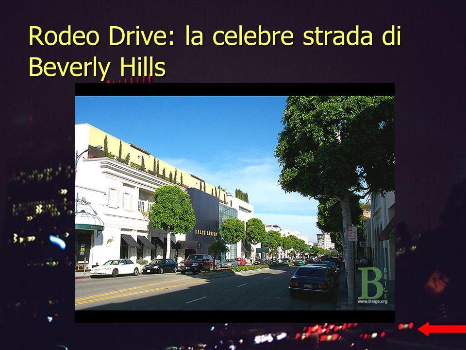 Rodeo Drive: la celebre strada di Beverly Hills