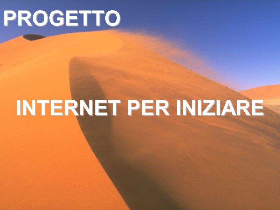 PROGETTO INTERNET PER INIZIARE