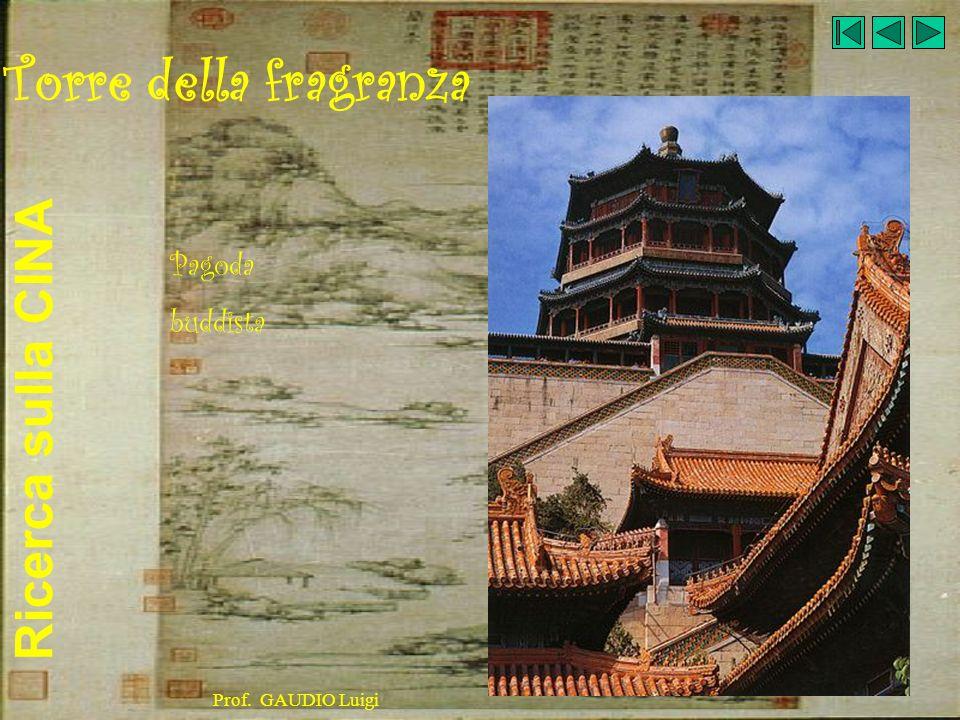 Ricerca sulla CINA Prof. GAUDIO Luigi Torre della fragranza Pagoda buddista