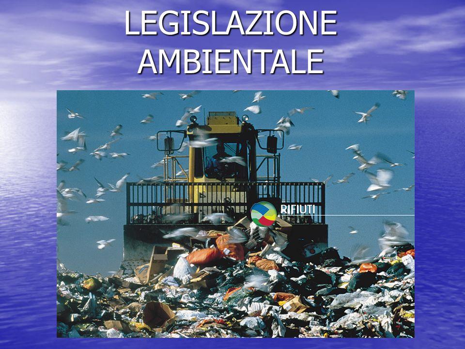 1.La politica ambientale: definizione.