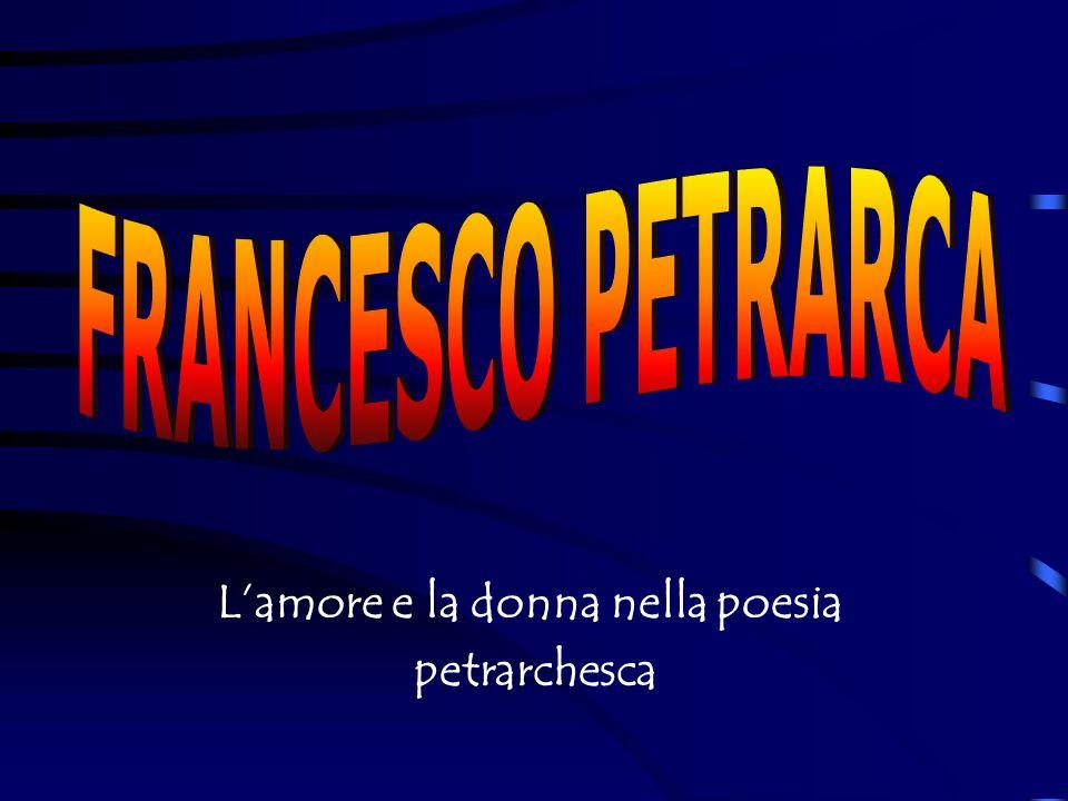 La Vita e la Personalità La Vita e la Personalità La Figura di Laura La Figura di Laura Lamore nel Canzoniere Lamore nel Canzoniere Petrarca nella Rete Petrarca nella Rete