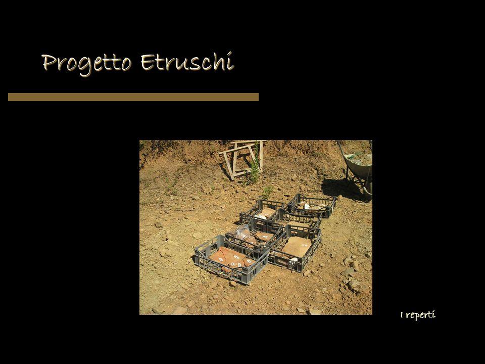 Progetto Etruschi I reperti