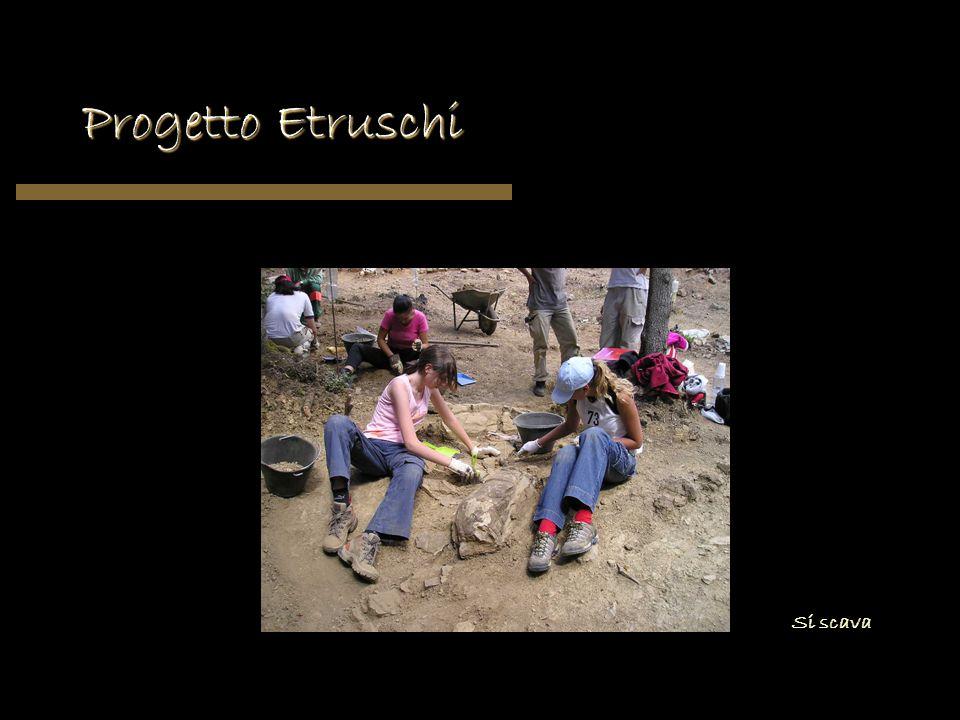 Progetto Etruschi Si scava