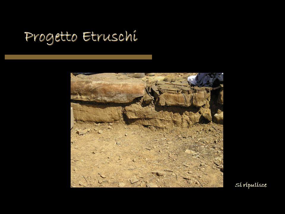 Progetto Etruschi Si ripulisce