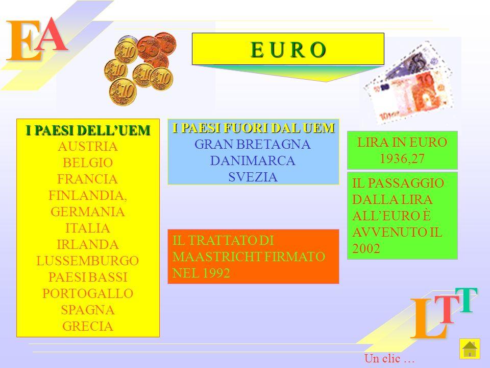 EAL T T I PAESI DELLUEM I PAESI DELLUEM AUSTRIA BELGIO FRANCIA FINLANDIA, GERMANIA ITALIA IRLANDA LUSSEMBURGO PAESI BASSI PORTOGALLO SPAGNA GRECIA I P