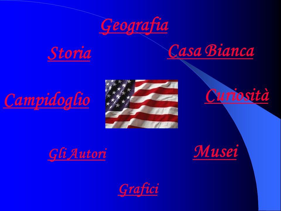 Geografia Storia Musei Casa Bianca Curiosità Campidoglio Gli Autori Grafici
