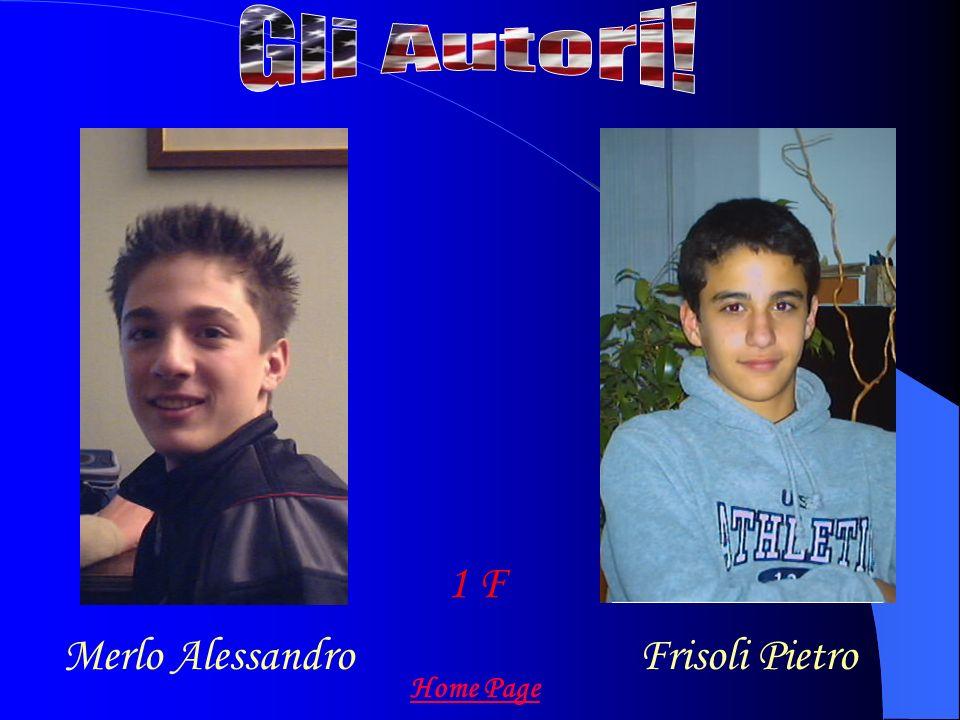Merlo AlessandroFrisoli Pietro 1 F Home Page