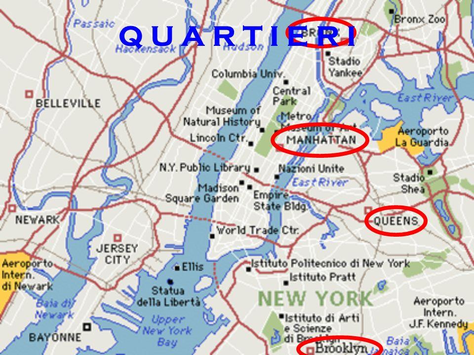 M A N H A T T A N MANHATTAN E IL PIU POPOLATO TRA I QUARTIERI DI NEW YORK.