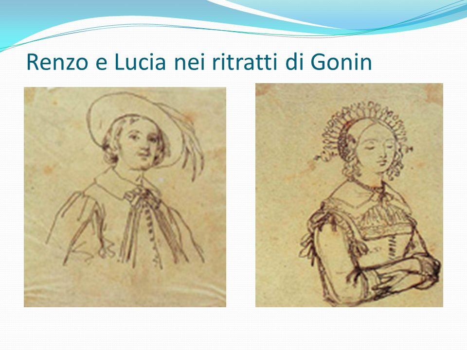 Renzo e Lucia nei ritratti di Gonin