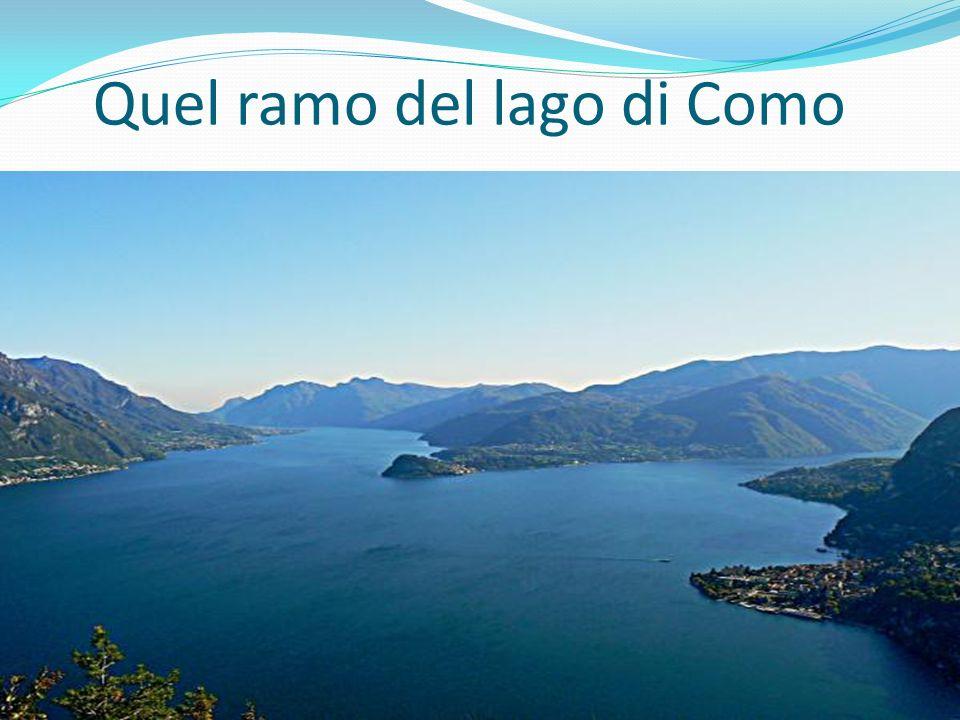 LECCO Lecco è il borgo che da il nome a quel territorio, giace sulla riva del lago.