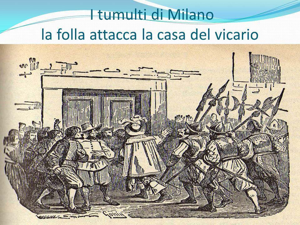 I tumulti di Milano la folla attacca la casa del vicario