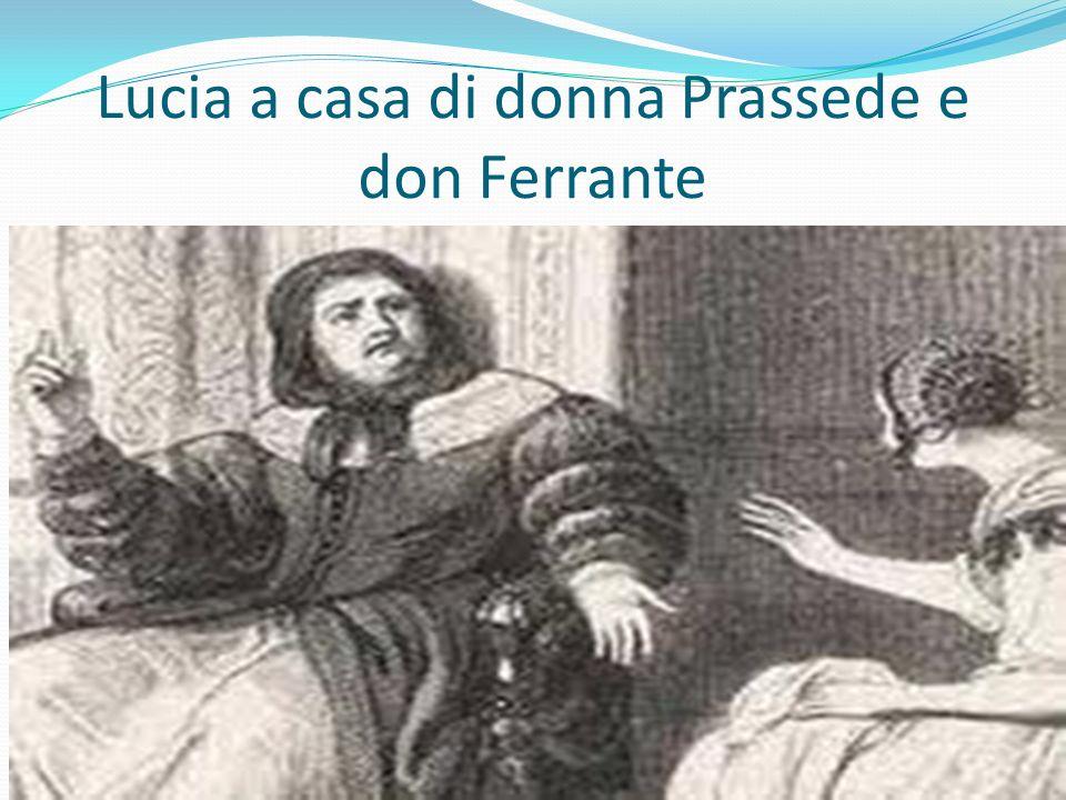 Lucia a casa di donna Prassede e don Ferrante