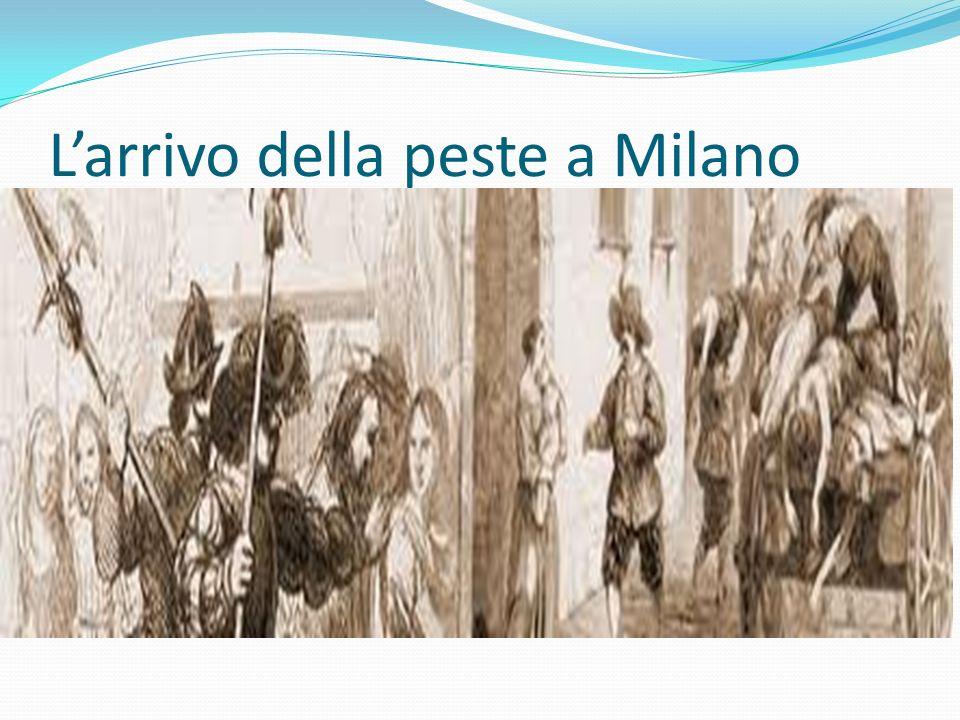 Larrivo della peste a Milano