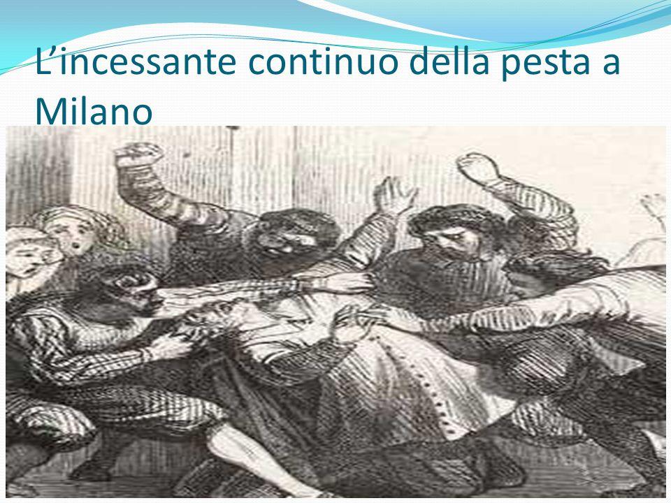 Lincessante continuo della pesta a Milano