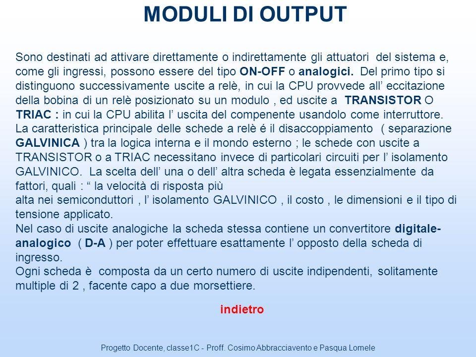 Progetto Docente, classe1C - Proff. Cosimo Abbracciavento e Pasqua Lomele Prof. ABBRACCIAVENTO Cosimo Prof.ssa LOMELE Pasqua