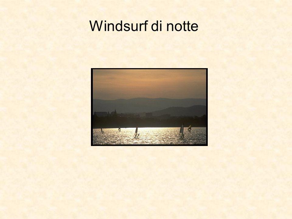 Windsurf di notte