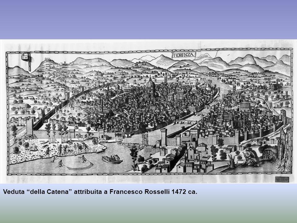 Veduta della Catena attribuita a Francesco Rosselli 1472 ca.