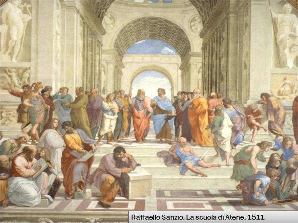 Raffaello Sanzio, La scuola di Atene, 1511