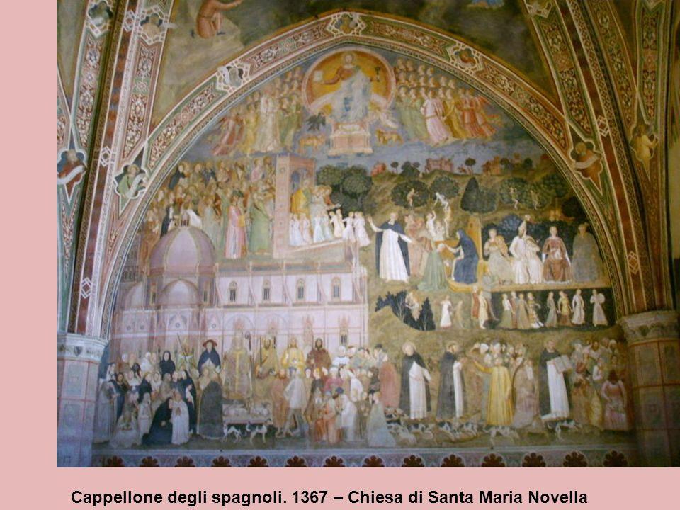 Porte del Paradiso Lorenzo Ghiberti, 1452 Leonardo Bruni suggerì a Ghiberti un disegno per la seconda porta del Battistero e questo è il primo esempio documentato di una collaborazione tra un umanista e un artista per un progetto artistico.