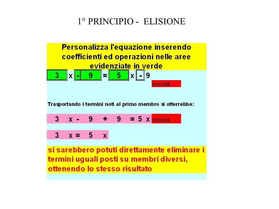 1° PRINCIPIO DEL TRASPORTO
