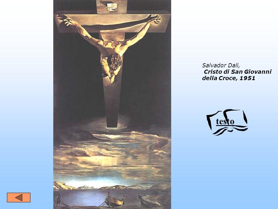 Salvador Dalì, Cristo di San Giovanni della Croce, 1951 testo